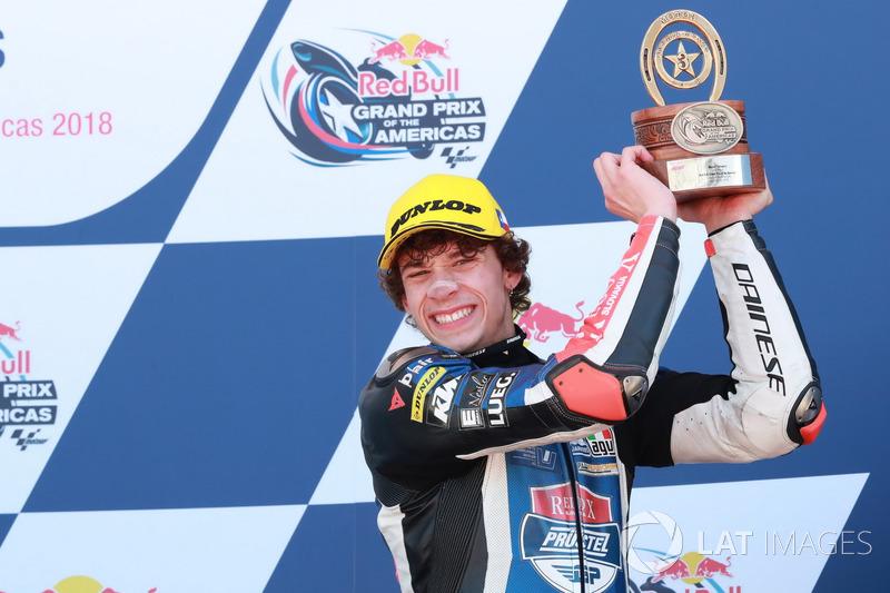 Podio: Marco Bezzecchi, Prüstel GP