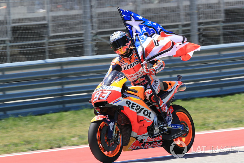 MotoGP Amerika: Marc Marquez, Repsol Honda Team