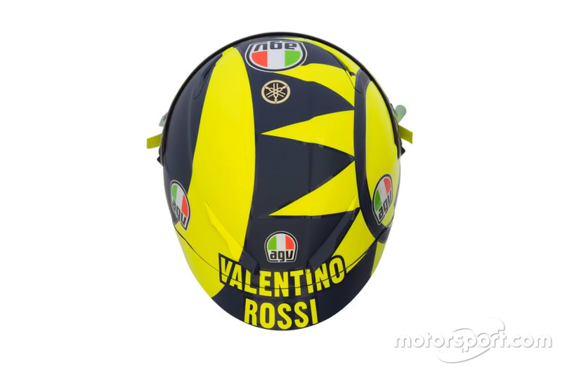 Casque de Valentino Rossi, Yamaha Factory Racing