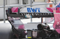 Detalle del ala trasera Force India VJM11