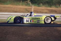#34 Reynard 2KQ LM Volkswagen: Jean-Christophe Boullion, Jordi Gene, Jérome Policand