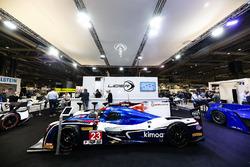 The Ligier stand