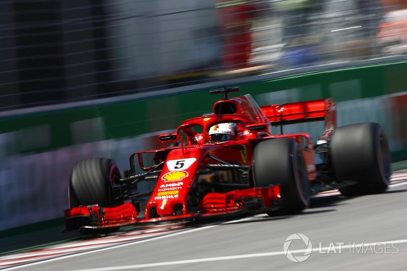 Canada - Sebastian Vettel