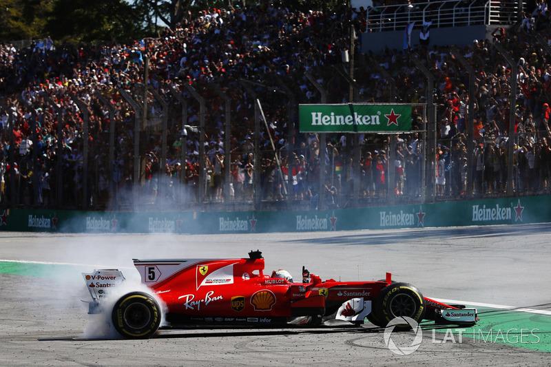 2017. Інтерлагос. Переможець: Себастьян Феттель, Ferrari SF70H