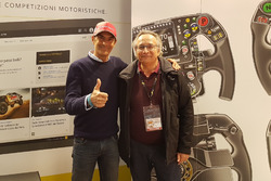 Emanuele Pirro e Franco Nugnes, direttore responsabile di Motorsport.com Italia