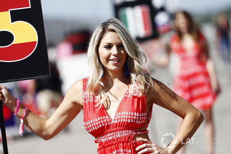 Chica de la parrilla Carlos Sainz Jr., Renault Sport F1 Team RS17