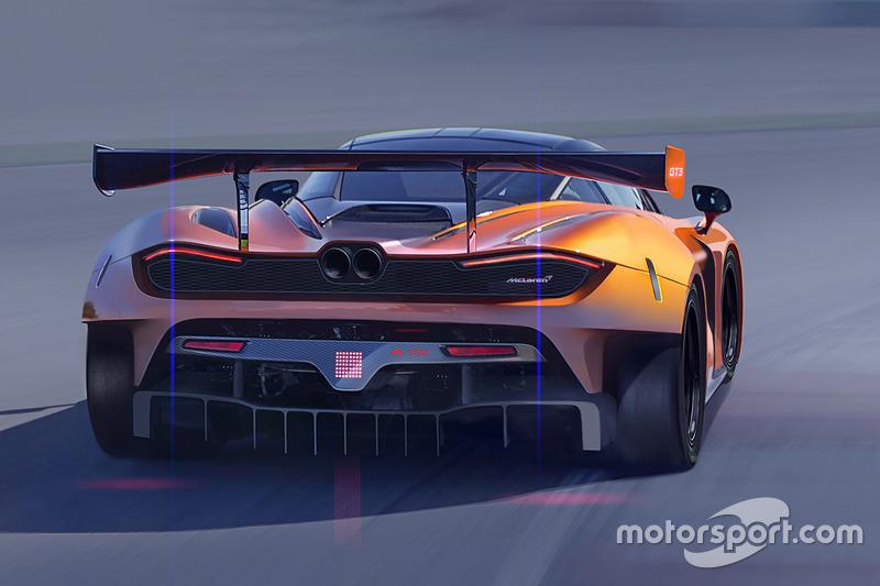 Representaciones McLaren 720S GT3