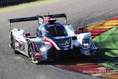 United Autosports Aragon testing