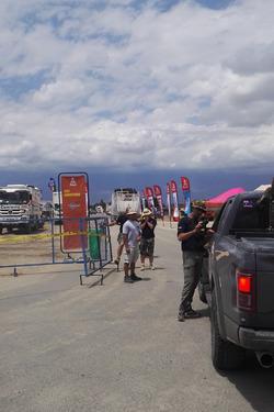 La Toyota HDJ100 di Motorsport.com arriva al bivacco di Chilecito