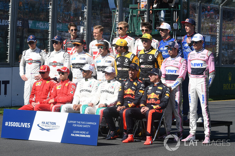 Driver group photo