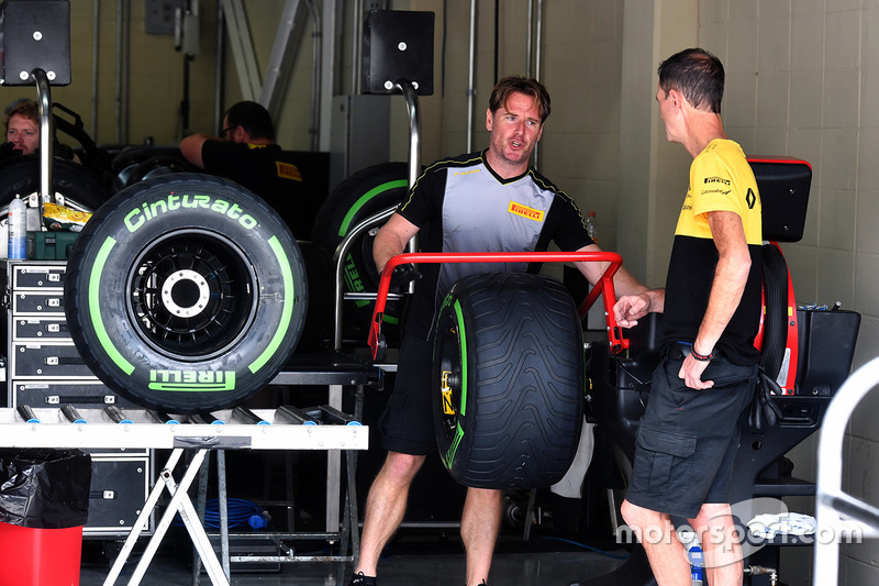 Pirelli lastik hazırlık alanı