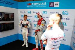 Sam Bird, DS Virgin Racing, Daniel Abt, Audi Sport ABT Schaeffler, Nelson Piquet Jr., Jaguar Racing, Felix Rosenqvist, Mahindra Racing