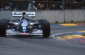 Damon Hill, Williams FW16B