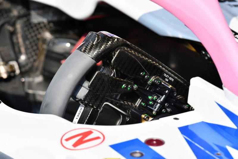 Volant de la Racing Point Force India VJM11