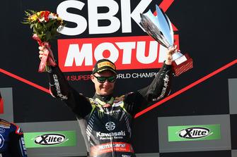 Podyum: Yarış galibi Jonathan Rea, Kawasaki Racing