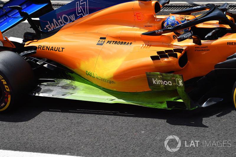 McLaren MCL33 в аэродинамической краске