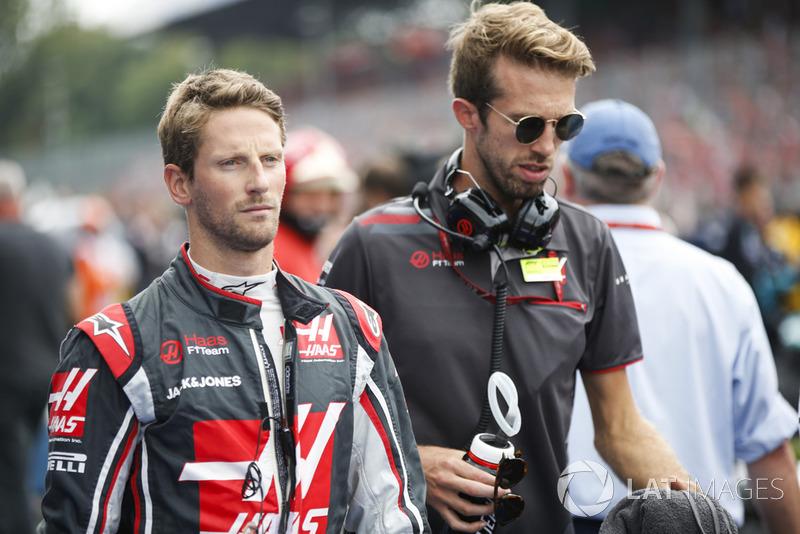 Disqualifié : Romain Grosjean (Haas F1) - Sixième sous le drapeau à damier