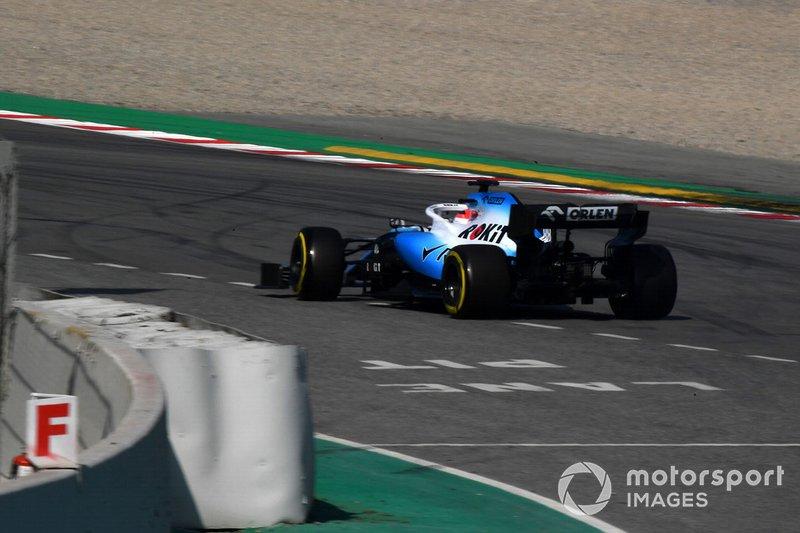 Роберт Кубіца розвернув болід Williams FW42