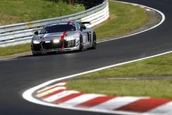 #18 Audi Sport Team Phoenix, Audi R8 LMS GT4: Christian Abt, Rahel Frey, Patrick Huismann, Peter Terting
