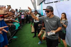 Fernando Alonso, McLaren and fans