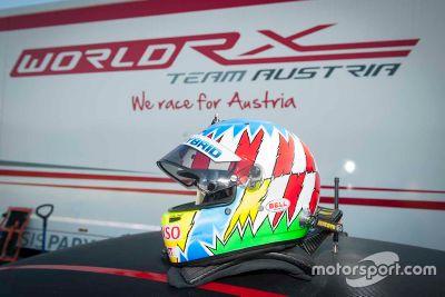 Alex Wurz testet Rallycross