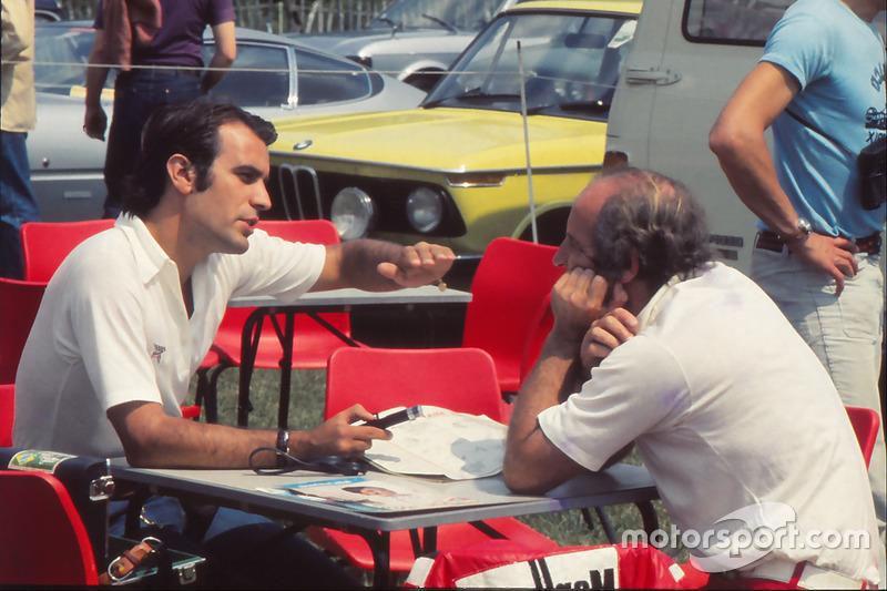 Giorgio Piola with Denny Hulme