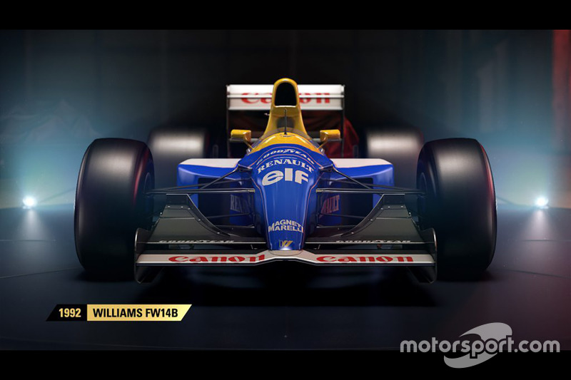 1992 Williams FW14B