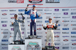 Podium: winner James Deane, second place Alex Heilbrunn, thid place Ryan Tuerck