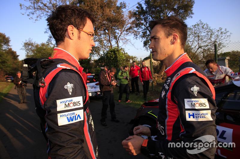 Thierry Neuville, Hyundai Motorsport, Dani Sordo, Hyundai Motorsport