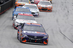 Denny Hamlin, Joe Gibbs Racing, Toyota; Erik Jones, Furniture Row Racing, Toyota