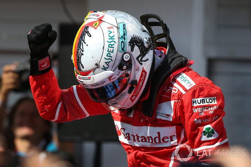 Sebastian Vettel (12 victorias)