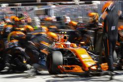 Пит-стоп: Стоффель Вандорн, McLaren MCL32