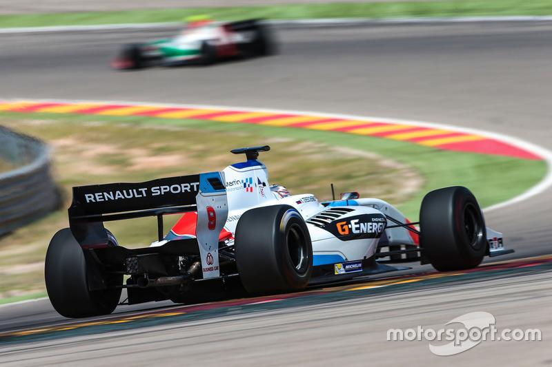 Konstantin Tereschenko, Teo Martin Motorsport