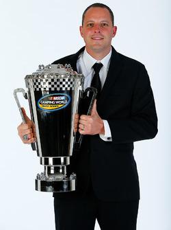 2016 Truck Series champion Johnny Sauter, GMS Racing Chevrolet