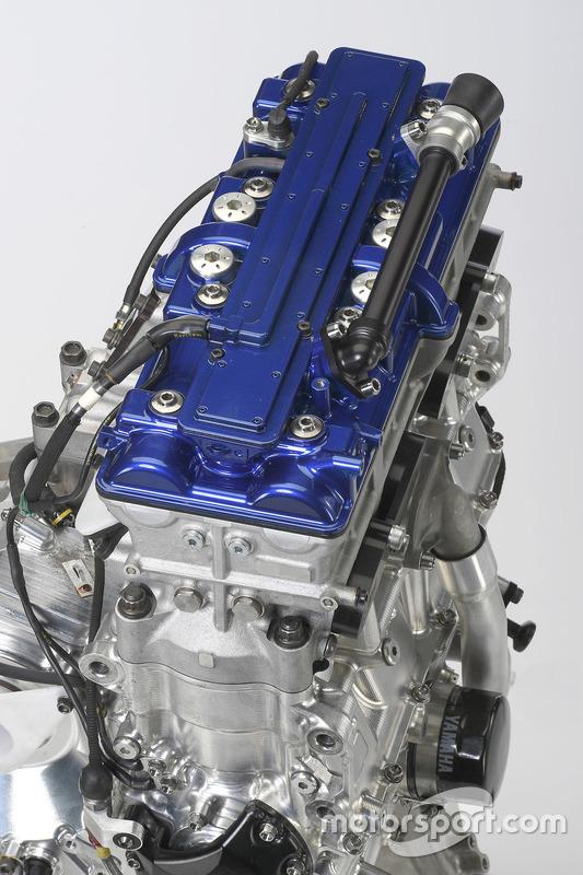 Motor de la Yamaha YZR-M1