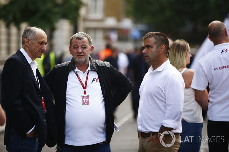 Керівник Scuderia Toro Rosso Франц Тост, Пол Стоддарт, Жолт Баумгартнер