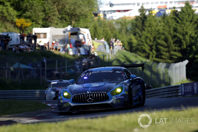 13. #4 Black Falcon, Mercedes-AMG GT3
