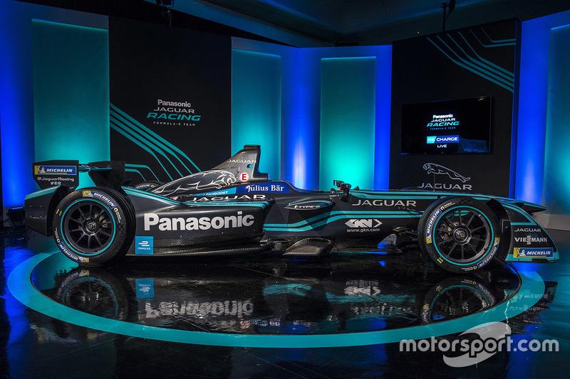 Présentation de la livrée Jaguar Racing