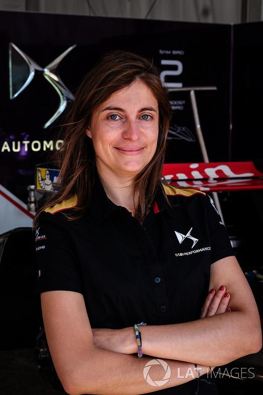 Claire Magnant, DS Virgin Racing Gerente de programa