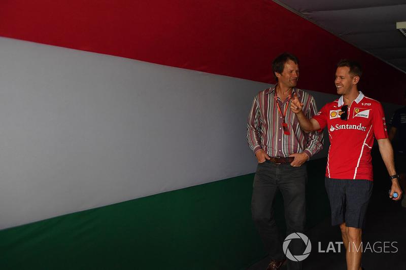 Sebastian Vettel, Ferrari y Michael Schmidt