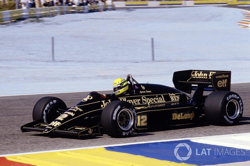 1983 – 1986: Team Lotus