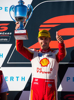 Podium:second place Fabian Coulthard, Team Penske Ford