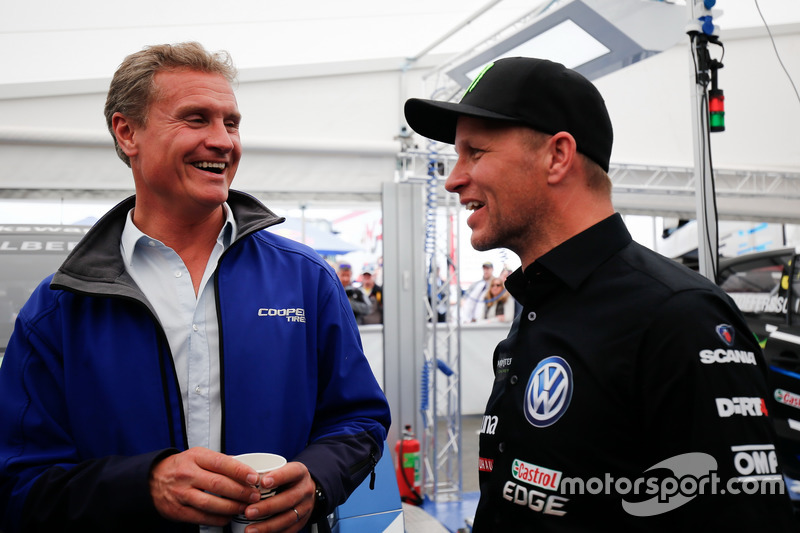 David Coulthard and Petter Solberg, PSRX Volkswagen Sweden, VW Polo GTi