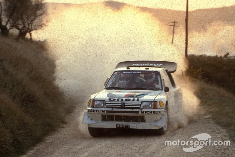 1986: Juha Kankkunen, Peugeot 205 T16