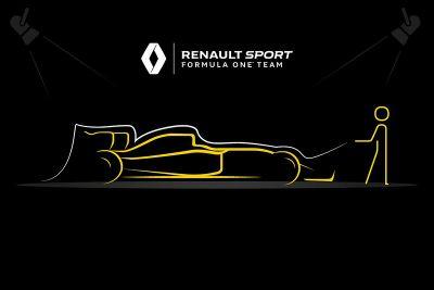 Teaser de la présentation Renault F1
