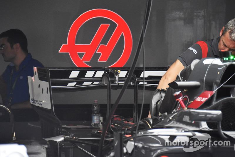 Заднє антикрило Haas F1 Team VF-17