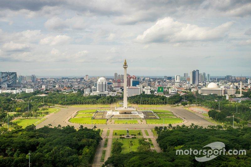 Этап в Джакарте