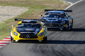 #88 AKKA ASP Mercedes AMG GT3: Felix Serralles, Daniel Juncadella, Tristan Vautier