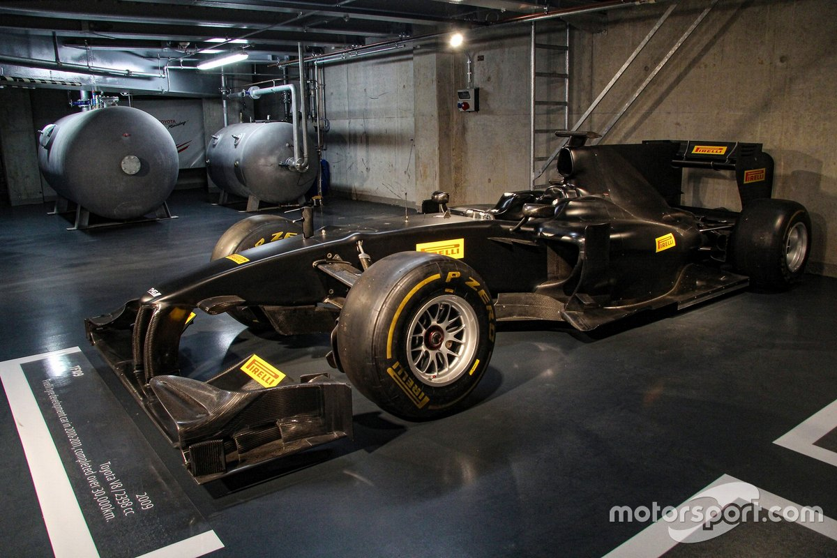 Telaio Toyota TF109 Formula 1