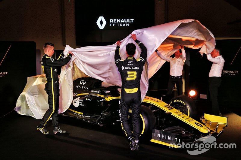 Presentazione della R.S.19 del Team Renault F1